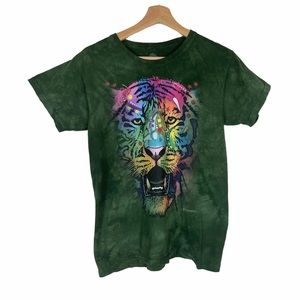 The Mountain Dean Russo Tiger Tie Dye T Shirt